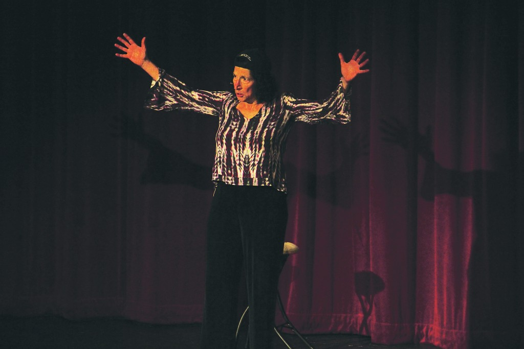 """""""Rosie the Riveter"""" at the Little Theater, Oct 18. - Photo by Giovanni Roverso"""