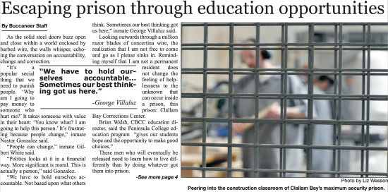 Screenshot of the original prison article published on June 5, 2013.