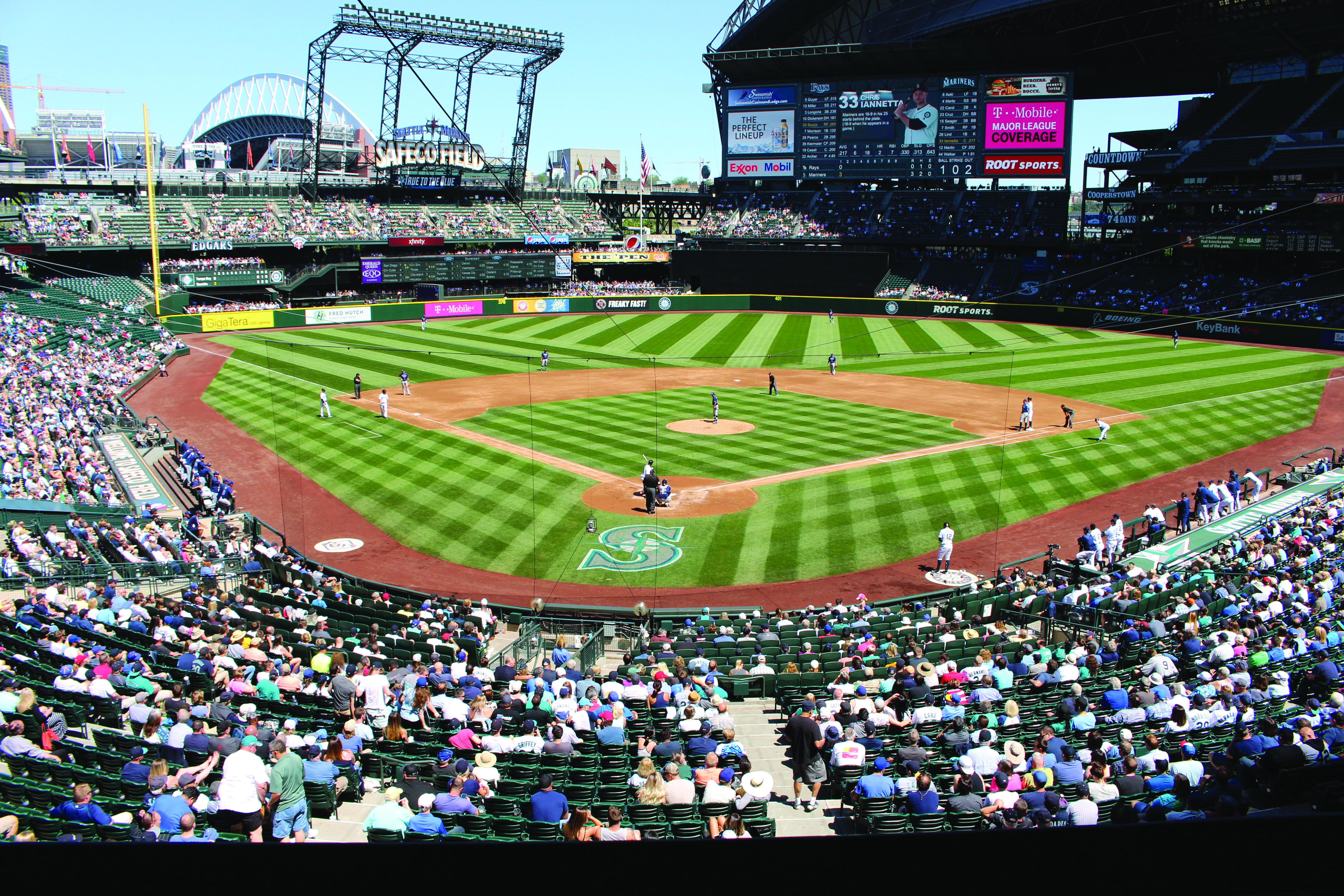 Major League debut for journalism student – Buccaneer managing editor hired to help cover a Seattle Mariners game for the Associated Press